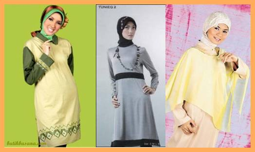 model baju muslim masa kini